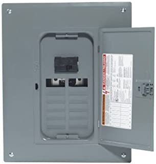 Square D by Schneider Electric HOM1224M100PC 100 Amp 12-Space 24-Circuit Indoor Main Breaker Load Center