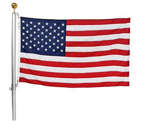 Ezpole Flag Pole, Defender Flag Pole Kit for Two...