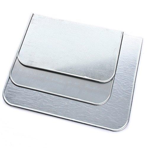 Ofenschutzblech Bodenblech Funkenschutz Bodenplatte Ofenunterlage Ofen Kamin SET von rg-vertrieb