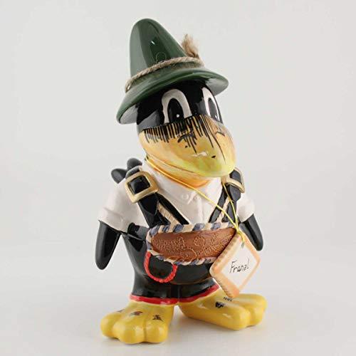 440s Tangoo Keramik Rabe Franzl in der Lederhose mit grünem Hut | TA-18851 | 4037432188514
