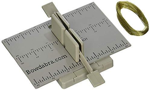 Darice BOW2300 Mini Bowdabra Hair Bow Making Kit (1Kit), Gray