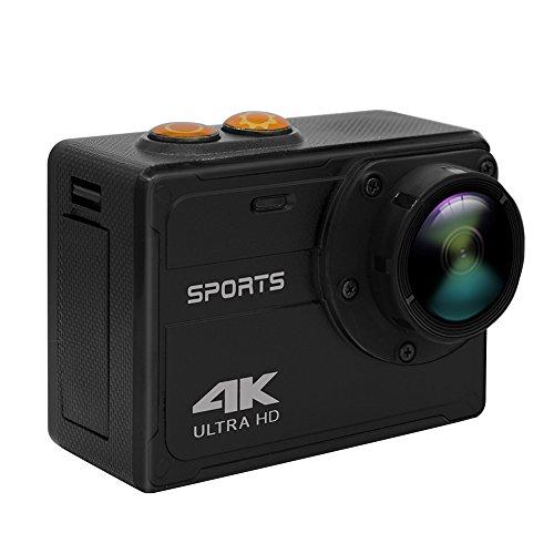 4K Action Camera, Chengstore ultra HD impermeabile sport fotocamera WiFi Diving DV 16MP 170gradi grandangolare 5,1cm LCD Display con batteria ricaricabile 1000mAh