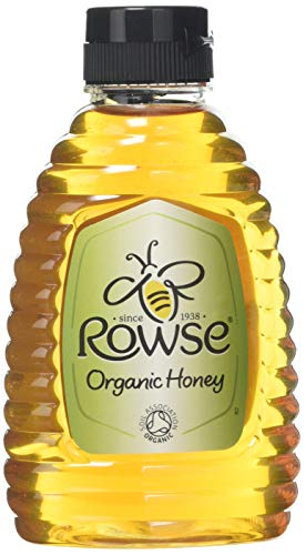 Rowse Pure Honey Clear Organic, 340g