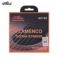 Loski アリスAC149-Hクラシックギター弦フラメンコギター用クリスタルナイロン&カーボン(G)ギター弦セットクラシックギター34〜39インチ ギター弦アコースティック
