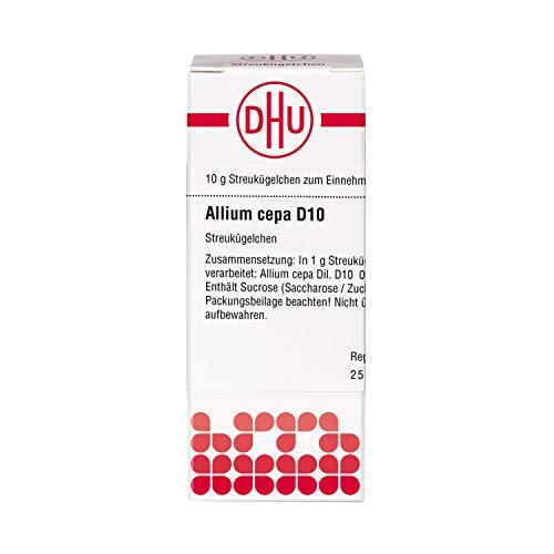 DHU Allium cepa D10 Globuli, 10 g Globuli