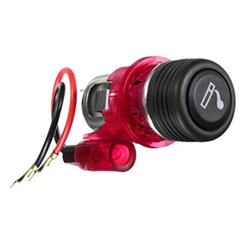 prasku 12V Auto Feuerzeug 2 Draht Fahrzeugteile Zubehör Universal NEU