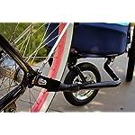 PETIQUE Bike Adapter for All Terrain Jogger Pet Stroller Bike Adapter, Black, One Size (BA01000000) 7