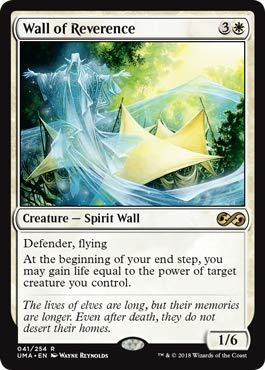 Magic: The Gathering - Wall of Reverence - Ultimate Masters - Rare