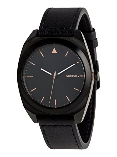 Quiksilver The PM Leather - Analogue Watch for Men - Analoge Uhr - Männer