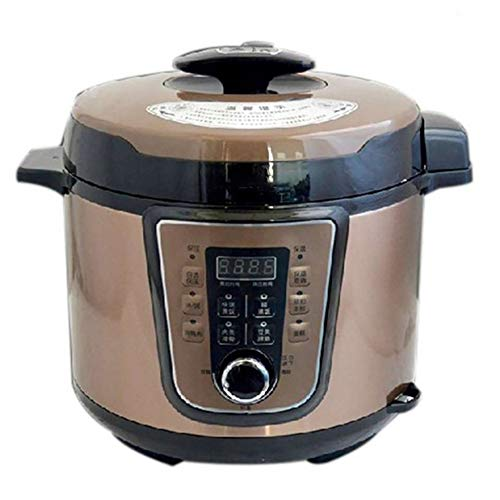 XIAOFEI Cuisinier Autocuiseur Électrique Programmable Multi- Cuisinier Lent Cuisinier Instant Pot Riz Cuisinier Lent Cuisinier Bateau À Vapeur Inoxydable Acier 5L