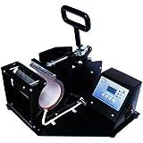 Indian Tag Cast Iron Mug Press 11 Oz Heat Press Machine Sublimation Transfer Digital Display Printing Machine for Mugs and Cups (Multicolor)