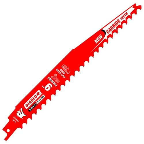 Freud DS0903CP3 Diablo 9' Carbide Tipped Pruning Reciprocating Blade 3 TPI-Fast Wood (3 Pack)
