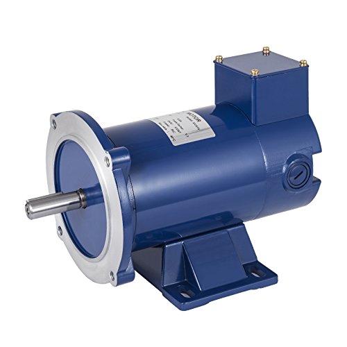 VEVOR 1/2 Hp DC Motor Rated Speed 1750 RPM 90V Electric Motor Permanent Magnet Motor