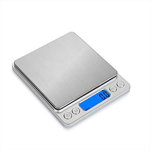 SWAG STYLE デジタルスケール 計り 測り 簡単 キッチン 料理 台はかり 電子計量器 超小型 精密 3000gまで計量可能 精密スケール 料理