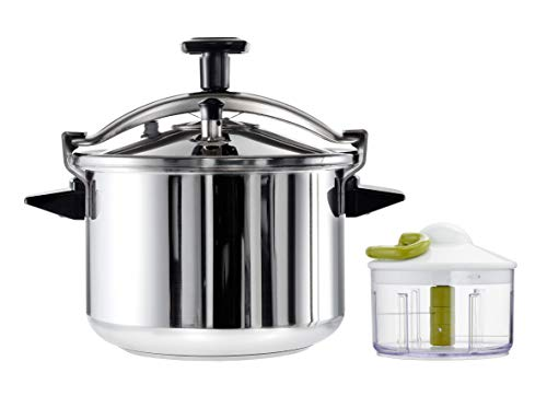Seb YY4335FA Authentique Cocotte Minute 8L INOX Tous Feux Dont Induction + Hachoir 5 Secondes Tefal Manuel 500 ML