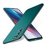 Bastmei für Oppo Find X3 Lite Hülle, extrem leichtes ultraleichtes superschlankes Kameraschutz-Hart-PC-Cover für Oppo Find X3 Lite. (Kies grün)