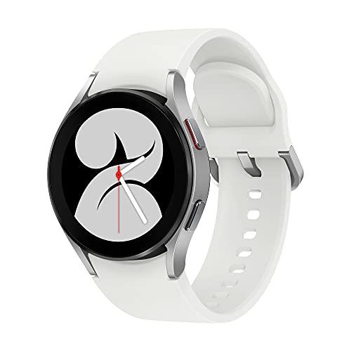 Samsung Galaxy Watch4 - Smartwatch, Control de Salud, Seguimiento Deportivo, Batería de Larga Duración, 40 mm, Bluetooth, Color Plata (Version ES)
