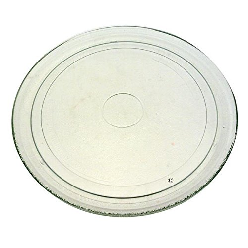 Piatto girevole in vetro, 27,2 cm, mwd201 mwd202 mwd307 mwd208 mwd244 mwd246 mwd344 mwd301 mwd307 mwd308 mw344 mwd308wh mwd242/wh, per forno a microonde whirlpool mwd207/wh
