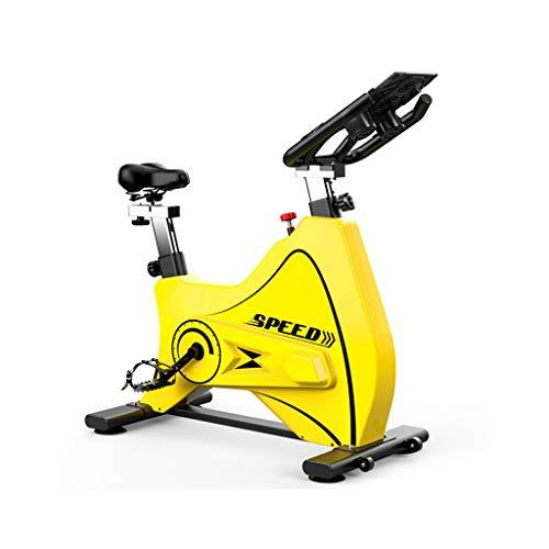 WMQ Bicicleta estática casera, Bicicleta de Spinning, Equipo de Gimnasia, equitación en Interiores, función cardiopulmonar Fuerte