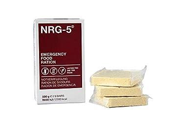 NRG-5 1 paquet de 9 biscuits pour ration de survie 500 g