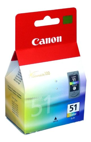 Canon CL-51 - CANON CL-51 COLOUR INK 0618B001
