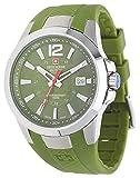 Swiss Alpine Military Reloj de pulsera para hombre de Grovana, color verde oliva 7058.1838, 10 atm, fabricado en Suiza.