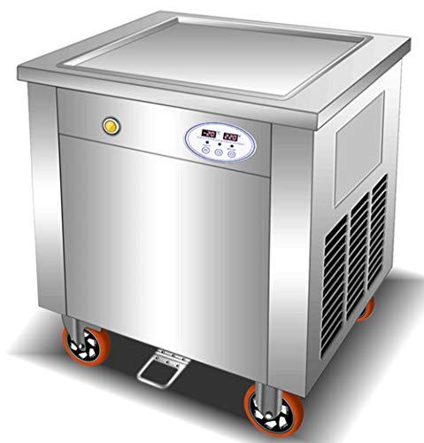 Find Bargain NEWTRY Fruit Milk Yogurt ice Cream roll Making Machine Thai Single pan Fried ice Cream ...