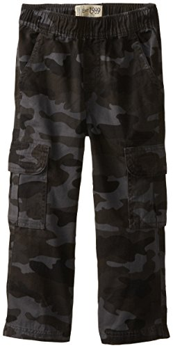 The Children's Place Boys' Uniform Pull On Chino Cargo Pants, Nightcamo, 10 husky