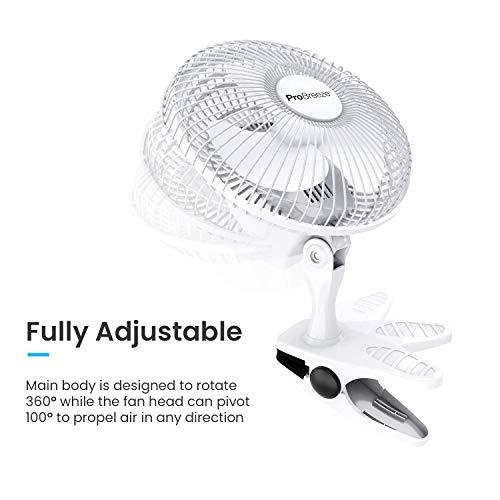 Pro Breeze™ Mini Ventilator mit Clip