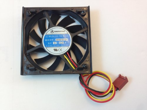 "BI SONIC TECHNOLOGIES CORP CPU COOLING FAN,H 2.5"" X W 2.5"" X D 1/2"" FAN 3PIN CONNECTOR"