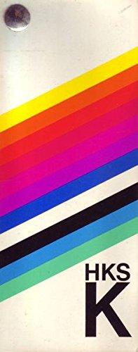 HKS Entwurfsfächer K 76 Farbmuster 1974 Kunstdruckpapier