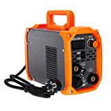 wana Computer Portatili Tig saldatrice, 2in1 200a Portatile Mini MMA Igbt Inverter 220V Portatile Mini Electric Saldatura ad Arco Utensili elettrici (Color : Orange)