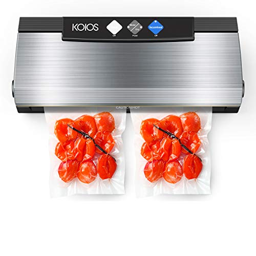 Our #4 Pick is the KOIOS Vacuum Sealer
