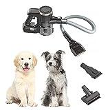 Vacuyahu 3 in 1 Multipurpose - Cordless Handheld Pet Grooming Vacuum with Patent Dog/Cat Grooming Brush (Comb and Clean Pets' Hair)- 99% Pet Hair Remover