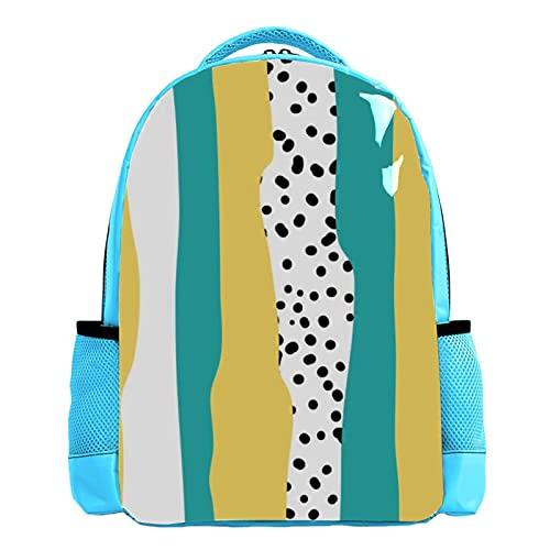 Mochilas para el bolso de la escuela al aire libre en paquetes de espalda al por mayor rosa alpaca Llama gafas pajarita, Color04, 26.6x20x42cm/10.5x8x16.5 in,