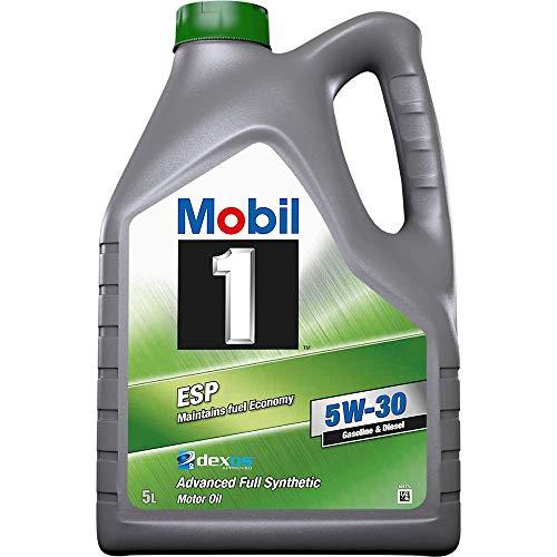 Mobil 1 MOES5305 ESP 5W-30 Aceite de Motor, Negro, 5 L