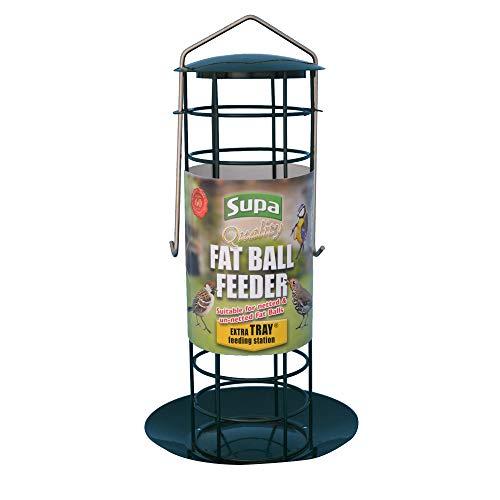 Supa Premium - Mangiatoia per palle di grasso - Uccelli (Taglia unica) (Verde)