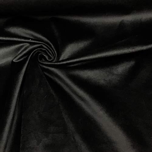 Panini Tessuti, Tessuto Velluto Morbido Venduto al Mezzo Metro, 1 qtà = 50 cm; 2 qtà = 100 cm Arredamento,Tappezzeria, Divani, Rivestimento