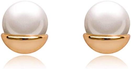 popular KUNQ Navidad Regalo Pendientes De Perlas Naturales Perlas Perlas Perlas De Agua Dulce Chapado En oro plata Anti - Alergia Pendientes  ahorra hasta un 80%