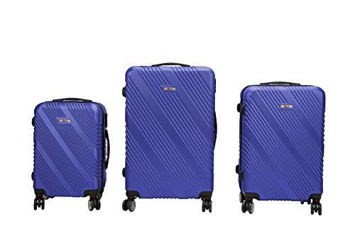 Luxe 3-delige kofferset IMEX koffer trolley hardschaal ABS reiskoffer set