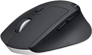 ロジクール ワイヤレスマウス 無線 マウス M720r トライアスロンマウス Bluetooth Unifying 8ボタン 高速スクロール 電池寿命最大24ケ月 windows mac Chrome Android iPad OS 対応 ブラ...