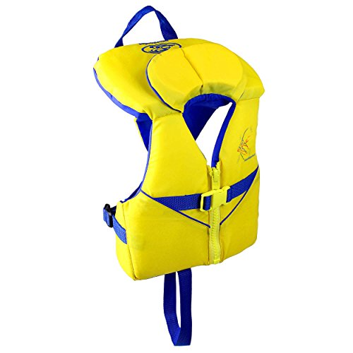 Stohlquist Waterware Child PFD 30-50 lbs, Yellow/Blue