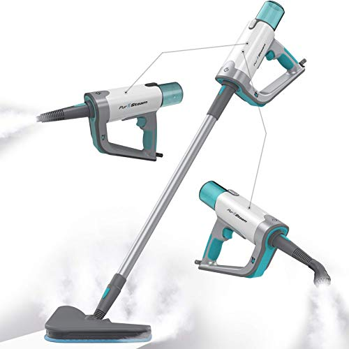 PurSteam Steam Mop Cleaner 12 in 1 for Hardwood/Tiles/Vinyl