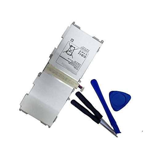 Powerforlaptop Replacement Internal battery for Samsung Galaxy Tab 4 10.1' SM-T530 SM-T530NU EB-BT530FBU EB-BT530FBE AA1F416GS/7-B T530 T531 T535 SM-T531 SM-T535 Wi-Fi with Installation Tools