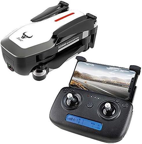 DishyKooker ZLRC Beast SG906 GPS 5G WiFi FPV mit Ultra klarer 4K-Kamera Brushless Selfie Faltbarer RC-Drohne-Quadcopter Weiße Batterie 3