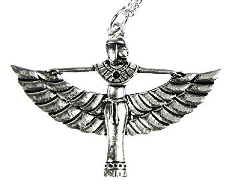 Inception Pro Infinite - Damenkette - Isis - ägyptische Göttin - Ägypter - Silberne Farbe - Ägypten