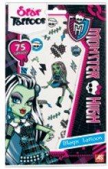 AS - 6503 - Déguisement - Tatouage - Star Tatoos Monster High - Frankie Stein