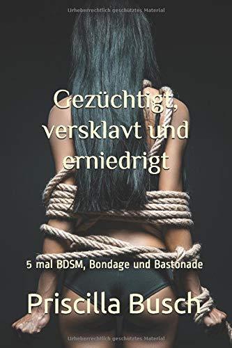 Gezüchtigt, versklavt und erniedrigt: Sammelband 5 mal BDSM, Bondage und Bastonade