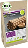 Ceylon Zimt Pulver - Bio 500g im Zippbeutel - Ökologischer Anbau - Glutenfrei - Zimt gemahlen - Zimtpulver - Premium Qualität