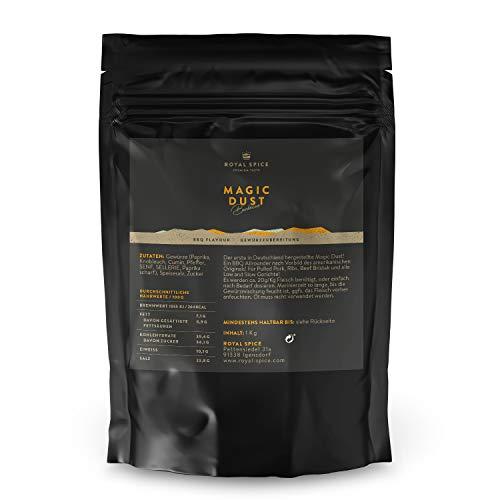 Royal Spice Magic Dust BBQ Rub Gewürzmischung 1kg - Erster In Deutschland Hergestellter Magic Dust Rub Nach Dem Originalrezept Von Mike Mills